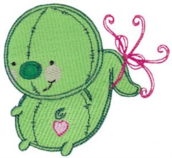 Baby Dolls Creature embroidery design