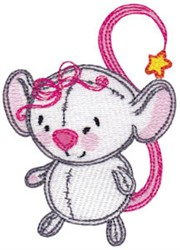 Baby Dolls Mouse embroidery design
