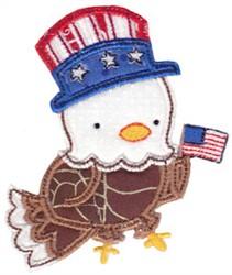 Eagle USA embroidery design
