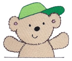 Cuddle Bear With Hat embroidery design