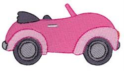 Summer Loving Car embroidery design
