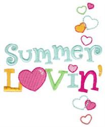 Summer Loving embroidery design