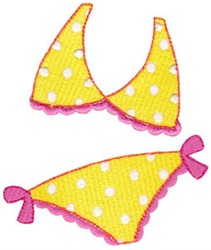 Summer Loving Swimsuit embroidery design