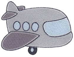 Vacation Time Airplane embroidery design