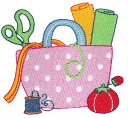 Sewing Bag embroidery design
