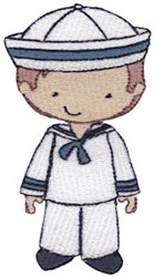 Sailor Boy embroidery design