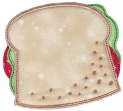 Applique Sandwich embroidery design