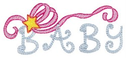 Baby Ribbon embroidery design