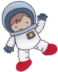 Astronaut Boy embroidery design