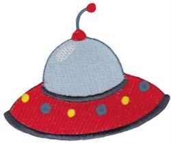 UFO Ship embroidery design