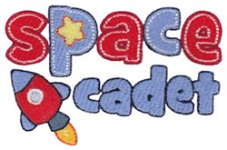 Space Cadet embroidery design