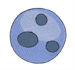 Planet embroidery design
