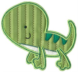 Lizard Applique embroidery design