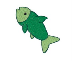Mini Fish embroidery design