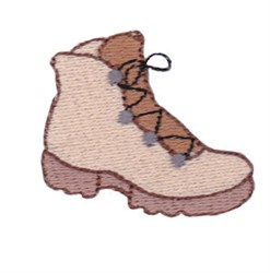 Mini Boot embroidery design