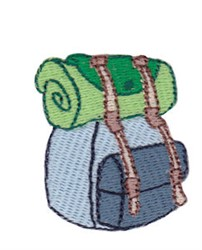 Mini Backpack embroidery design
