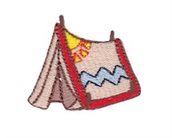 Teepee Mini embroidery design