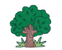 Mini Tree embroidery design