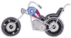 Patriotic Chopper Applique embroidery design