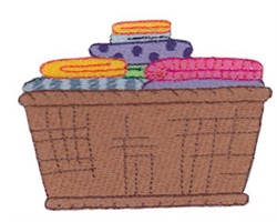 Laundry Day embroidery design