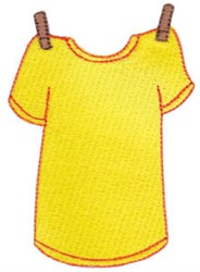 Laundry Day T-Shirt embroidery design