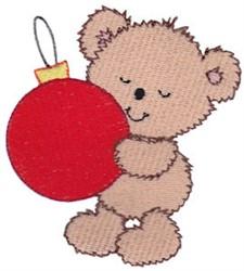 Teddy Bear & Ornament embroidery design