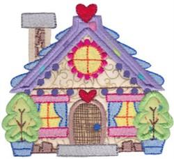 Christmas Village Applique Home embroidery design