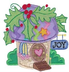 Christmas Village Applique embroidery design