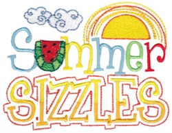 Summer Sizzles embroidery design