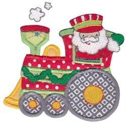 Santa Express Applique embroidery design