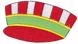Santa Express Engineer Cap embroidery design