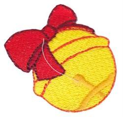 Santa Express Jingle Bell embroidery design