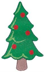 Santa Express Christmas Tree embroidery design