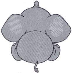 Elephant Back embroidery design