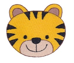 Tiger Face embroidery design