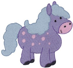 Spotted Horse embroidery design