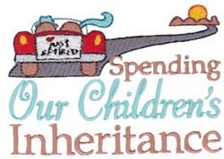 Childrens Inheritance embroidery design