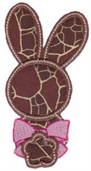 Easter Hare embroidery design