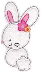 White Rabbit embroidery design