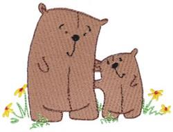 Daisy Bears embroidery design