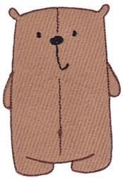 Daisy Bear embroidery design
