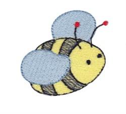 Daisy Bears Bumblebee embroidery design