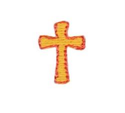 Teenie Tiny Cross embroidery design