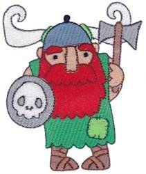Viking Man embroidery design