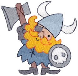 Viking Odin embroidery design
