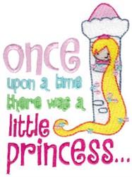 Little Princess embroidery design