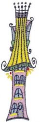 Fantasy Homescape embroidery design