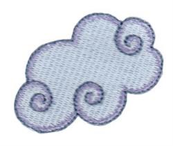 Fantasy Homescape Cloud embroidery design