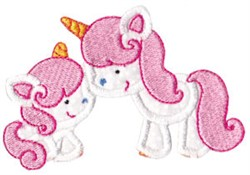 Magical Unicorns Applique embroidery design