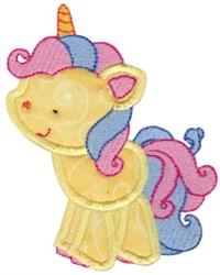 Magical Unicorn Applique embroidery design